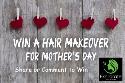 Visit Facebook to win our Mother's Day free hair makeover