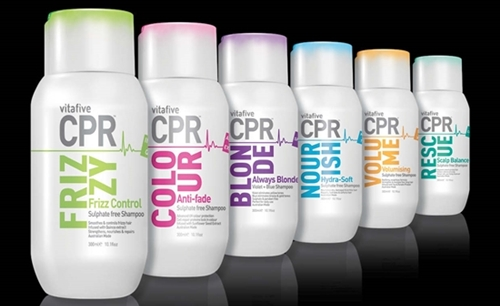 VitaFive CPR Hair Products