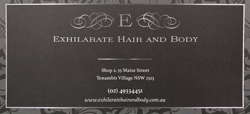 Exhilarate Hair Gift Voucher